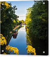 Kennet And Avon Canal Acrylic Print