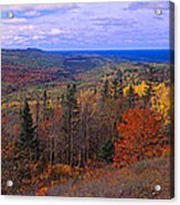 Keweenaw Peninsula And Copper Harbor Acrylic Print