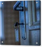 Key To The Door Acrylic Print
