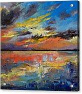 Key West Florida Sunset Acrylic Print