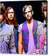 Kings Of Leon Acrylic Print