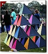 Kite Show Acrylic Print