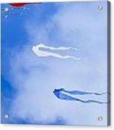 Kites On Ice Acrylic Print