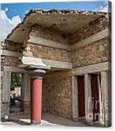 Knossos Palace Acrylic Print