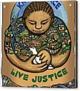 Know Peace Acrylic Print