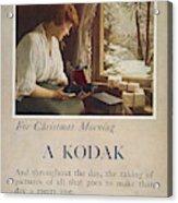 Kodak Advertisement, 1914 Acrylic Print
