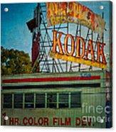Kodak's Moment Acrylic Print
