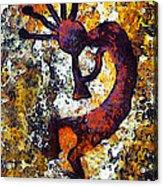 Kokopelli The Flute Player Acrylic Print