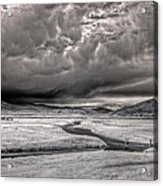 Kootenai Wildlife Refuge In Infrared 2 Acrylic Print