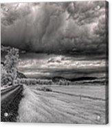 Kootenai Wildlife Refuge In Infrared 3 Acrylic Print
