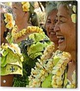 Living Aloha Acrylic Print