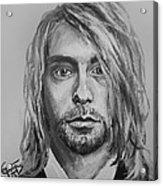 Kurt Cobain Acrylic Print