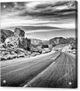 Kyle Canyon Road Acrylic Print