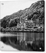 Kylemore Abbey Reflected In The Lake Connemara Galway Ireland Acrylic Print