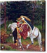 La Belle Dame Sans Merci Acrylic Print