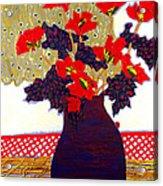 Lady Bug Acrylic Print by Diane Fine