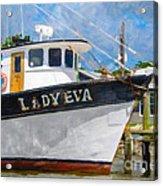 Lady Eva Acrylic Print