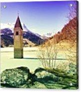 Lago Di Resia - Alto Adige Acrylic Print