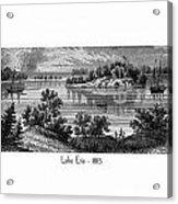 Lake Erie - 1815 Acrylic Print