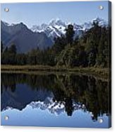 Lake Matheson New Zealand Acrylic Print