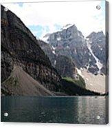 Lake Moraine Acrylic Print by Carolyn Ardolino