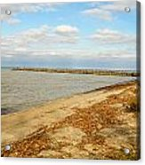 Lake Ontario Shoreline Acrylic Print