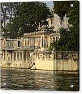 Lake Pichola Acrylic Print