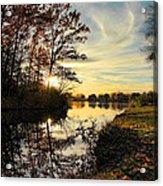 Lake Wausau Sunset Acrylic Print