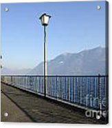 Lakefront With Mountain Acrylic Print
