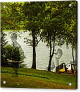 Lakeside Dreams Acrylic Print