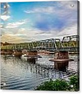 Lambertville From The Shores Of New Hope Acrylic Print