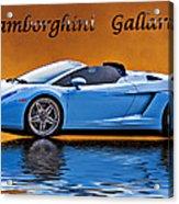 Lamborghini Gallardo Acrylic Print