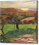 Landscape From Bretagne Acrylic Print