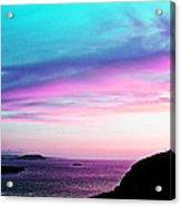 Landscape - Sunset Acrylic Print