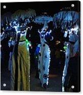 Lantern Parade In Patterson Park Acrylic Print