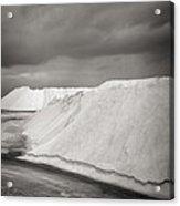 Las Coloradas Salt Flat Acrylic Print