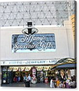 Las Vegas - Fremont Street Experience - 12123 Acrylic Print by DC Photographer