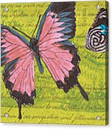 Le Papillon 2 Acrylic Print