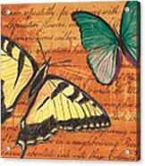 Le Papillon 3 Acrylic Print