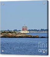 Ledge Lighthouse  Acrylic Print
