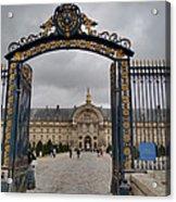 Les Invalides - Paris France - 01138 Acrylic Print