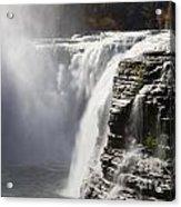 Letchworth High Falls Acrylic Print