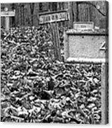 Letchworth Village Cemetery Acrylic Print
