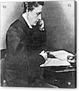Lewis Carroll Alias Charles Lutwidge Acrylic Print