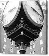 Liberty Mutual Clock Acrylic Print