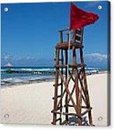 Lifeguard Acrylic Print