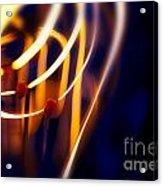 Light Bulb Filament Acrylic Print