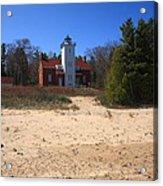Lighthouse - 40 Mile Point Michigan Acrylic Print