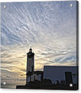 Lighthouse Maria Pia Acrylic Print