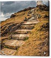 Lighthouse Steps Acrylic Print